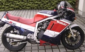 1985 - 1992 Suzuki GSXR 750 AND GSXR 1100 OEM PAINT SCHEMES